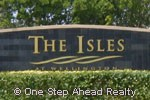 The Isles at Wellington community sign