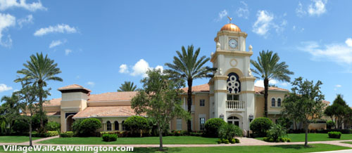 Always a hub of activity, the Town Center at Village Walk in Wellington, FL is in many ways the center of the community.